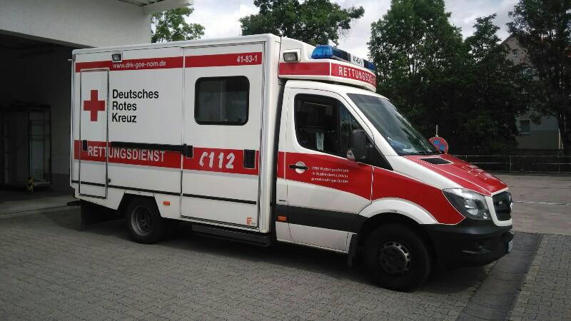 Rettungswagen DRK 1