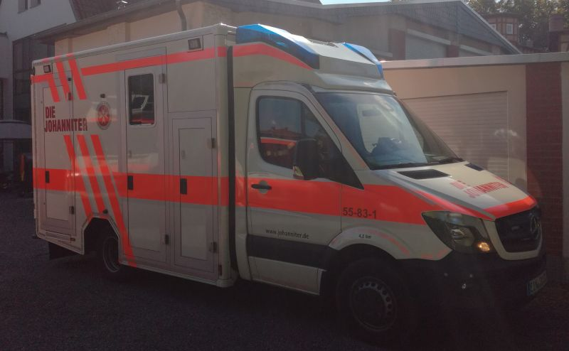 Rettungswagen JUH 1